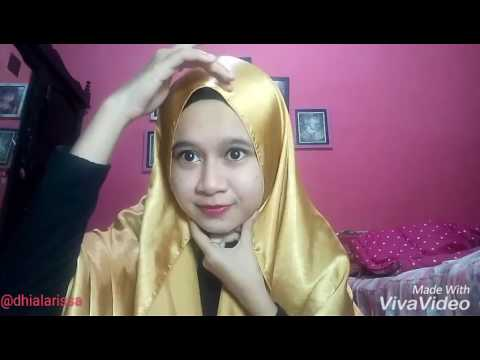 Video Tutorial Hijab untuk Pesta (Pashmina Satin)