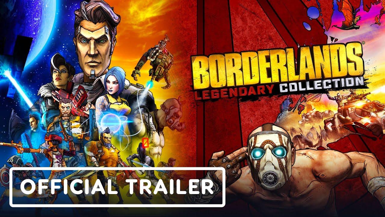 Релизный трейлер игры Borderlands Legendary Collection