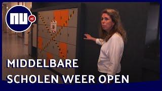 Zo gaan middelbare scholen om met coronamaatregelen | NU.nl