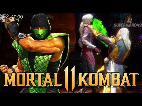 "Playing With Reptile & The Klassic Brutal! - Mortal Kombat 11: ""Shang Tsung"" Gameplay"