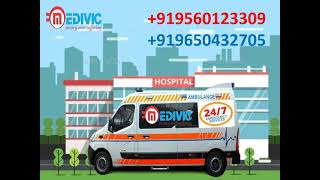 Top-Class Ambulance Service in Ranchi by Medivic