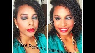 Saint Patricks Day Makeup