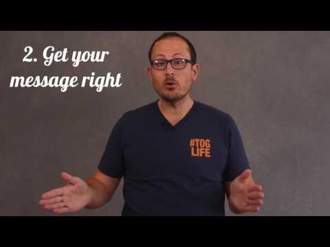6 tips for Public Speaking