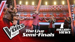 Team Dumal | Sakiya Sagawwata (සකිය සගව්වට) | The Live Semi Finals | The Voice Teens Sri Lanka