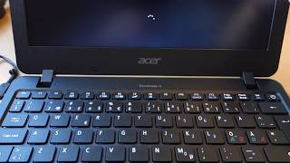 Acer TravelMate B117 11,6 HD First Time Start 12 November 2017!