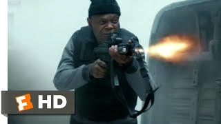 The Hitman's Bodyguard (2017)   Convoy Hijacking Scene (112) | Movieclips