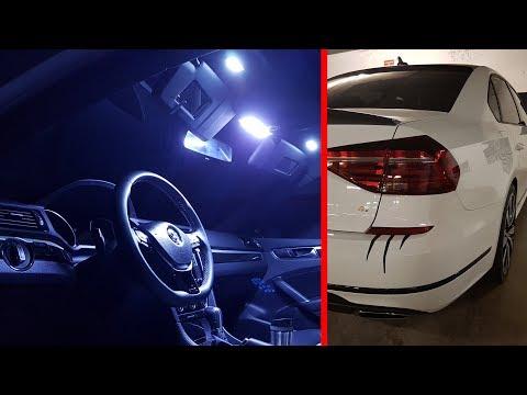 2018 Passat GT -  Interior LED conversion + wheels spacers