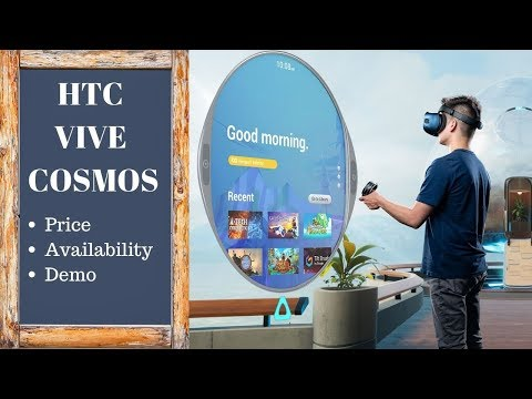 HTC Vive Cosmos : Hands On
