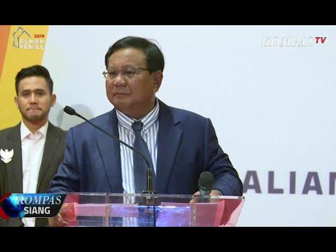 Prabowo Akan Sampaikan Pidato Kebangsaan di Surabaya