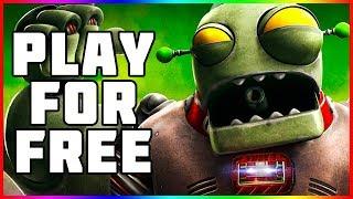 Play For Free   Plants vs Zombies Garden Warfare 2