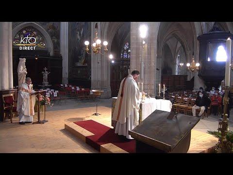 Messe du 4 mai 2021 à St-Germain-l'Auxerrois