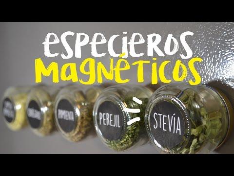 DIY especieros magnéticos!!