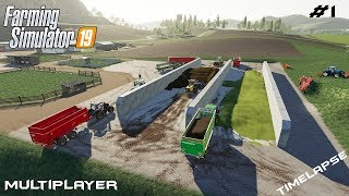Silage | Felsbrunn | Multiplayer Farming Simulator 19 | Episode 1