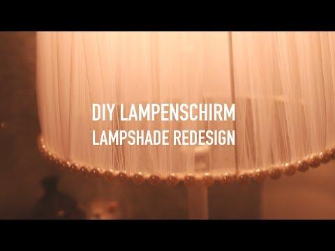 ∆ DIY ∆ LAMPSHADE - LAMPENSCHIRM Redesign ∆ CHRISTINA AURORA