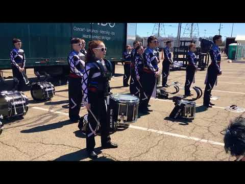 West Bloomfield Percussion in the WGI PSA semifinals lot 4/20/2018