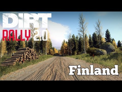 Dirt rally 2.0 Finland stages