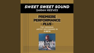 Sweet Sweet Sound (Key-G-Premiere Performance Plus w/o Background Vocals)