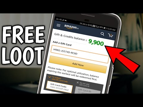 AMAZON is giving 10,000 Rs Gift voucher for Free! LOOT LO