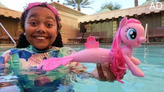 My Little Pony Pinkie Pie Swimming Sea Pony Surprise Toys | Kids Toy Review
