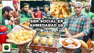 Better Than Manek Chowk? Urban SBR Social Food Market In Ahmedabad with Veggiepaaji EP 09