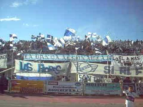 """Dale Loooooo"" Barra: La Banda Aeronauta • Club: Jorge Newbery de Comodoro"