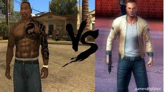 GTA San Andreas vs Gangstar Vegas Comparison Review #2