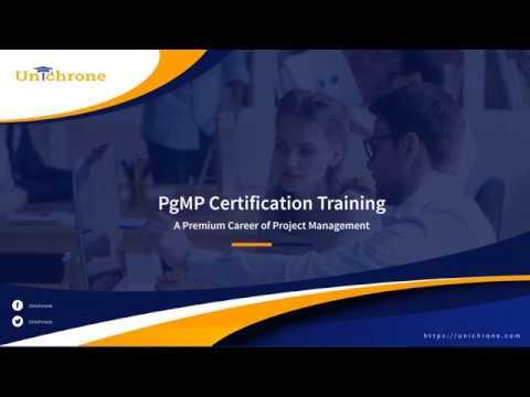 PgMP Certification Training   PgMP Training   Unichrone - YouTube