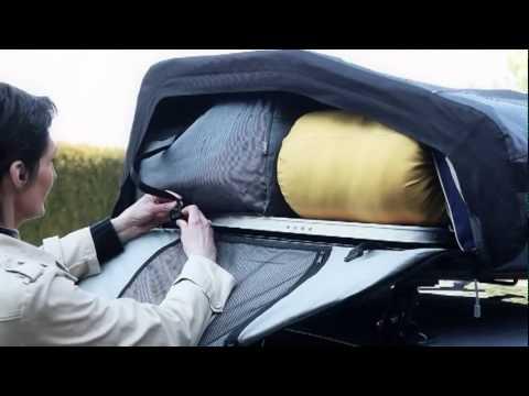 vid o coffre de toit souple norauto bermude flex 400 et 600 disponible sur l 39 argus. Black Bedroom Furniture Sets. Home Design Ideas