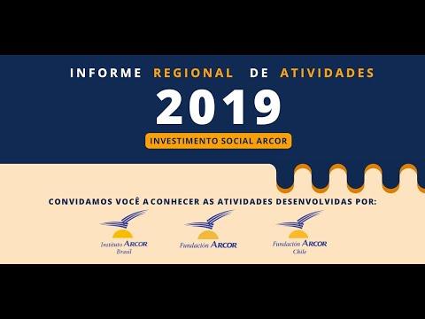 Relatório Regional de Atividades 2019