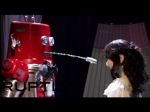 Forget same sex marriages. Watch these two robots in Japan that just got married