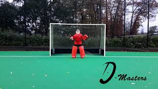D Masters Goalie - Right Hand Save Across