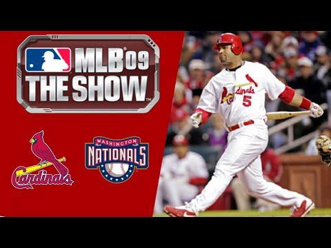 MLB 09 The Show PS3 Gameplay 2019 Washington Nationals Franchise Mode Ep.6