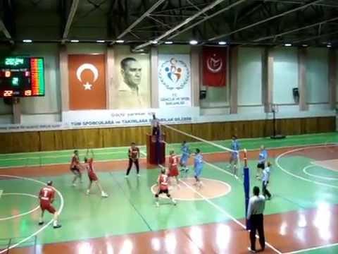 Nevşehir İl Sağlık Müdürlüğü & Altinyildiz Koleji Voleybol Karşılaması 22 10 2015