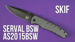 Youtube video Нож SKIF Serval BSW, Alum ц:grey
