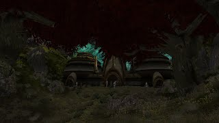 The Silent Pilgrimage in Forested Morrowind