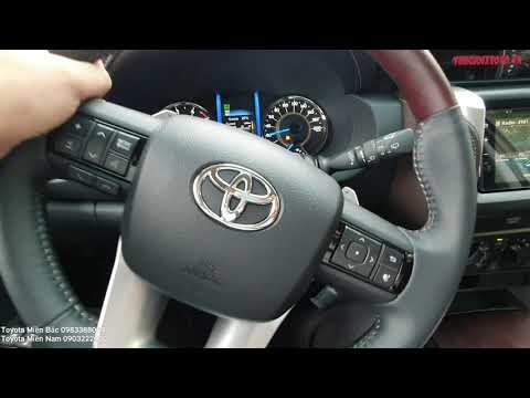 Lái thử xe Toyota Fortuner máy dầu số tự động 1 cầu (2.4G 4x2AT) cảm nhận tốt, giá đang rất rẻ..