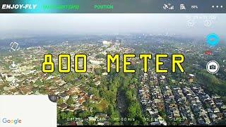 WAJIB NONTON Drone Murah Gokil FPV Paling Jauh :D JJRC X9 Heron