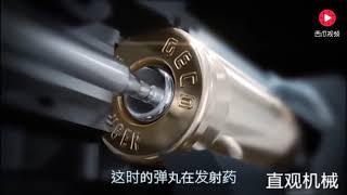 Высокоскоростная камера замедляет 10 000 раз, чтобы увидеть принцип запуска пули, почему пуля имеет