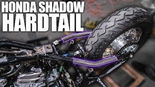 Making the Hardtail - Honda Shadow Bobber Build   Ep. 2