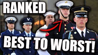 Which Military Branch is The Best? Ranked BEST TO WORST! (2020)