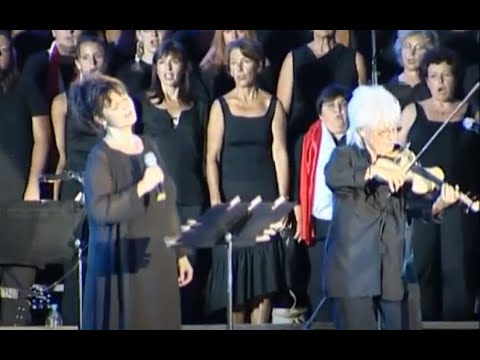 """""""Sur un prélude de Bach"""" -  Maurane & Les Fous Chantants (Catherine Lara au violon)"""