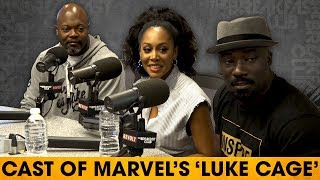 The Breakfast Club - Cast of 'Luke Cage' On The Rise Of Black Superheroes, Hip-Hop's Role & Character Developments
