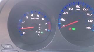 06 Acura TL green light blinking!
