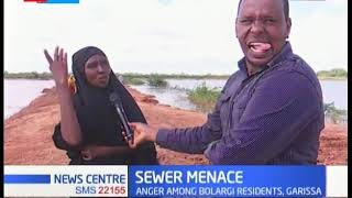Sewer menace in Garissa leading to widespread waterborne diseases