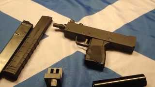 KWC Mac 11 M11 CO2 BB - Airsoft Pistol Table Top Review