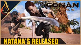 Conan Exiles Katana And Bow Update Released   Patch Notes And Thoughts