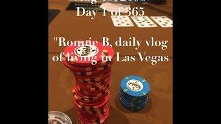 Day 1   Vlogging Stuff  Las Vegas   Garage Sales, All You Can Crab, And Winning At Bingo