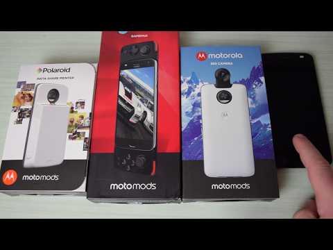 Recensione Moto Mods Polaroid, Gamepad e Cam 360