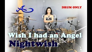 [New] Nightwish - Wish I had an angel drum only (cover by Ami Kim) {46th-2}
