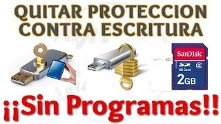 Tutorial Como Quitar Proteccion Contra Escritura De Disco Duro O Memoria USB   Método 1